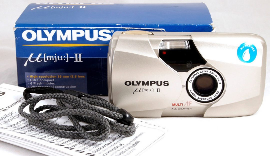 The Olympus MJU II Epic Stylus