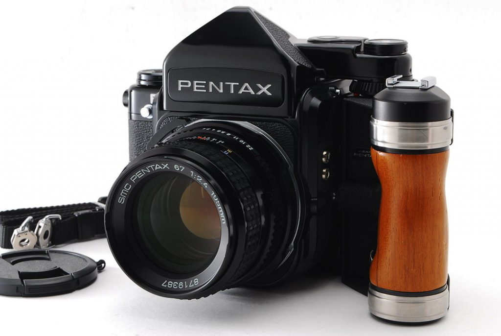 pentax 67 with canon lenses