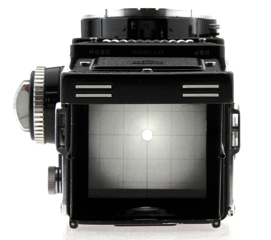 Rolleiflex Chimney Viewfinder