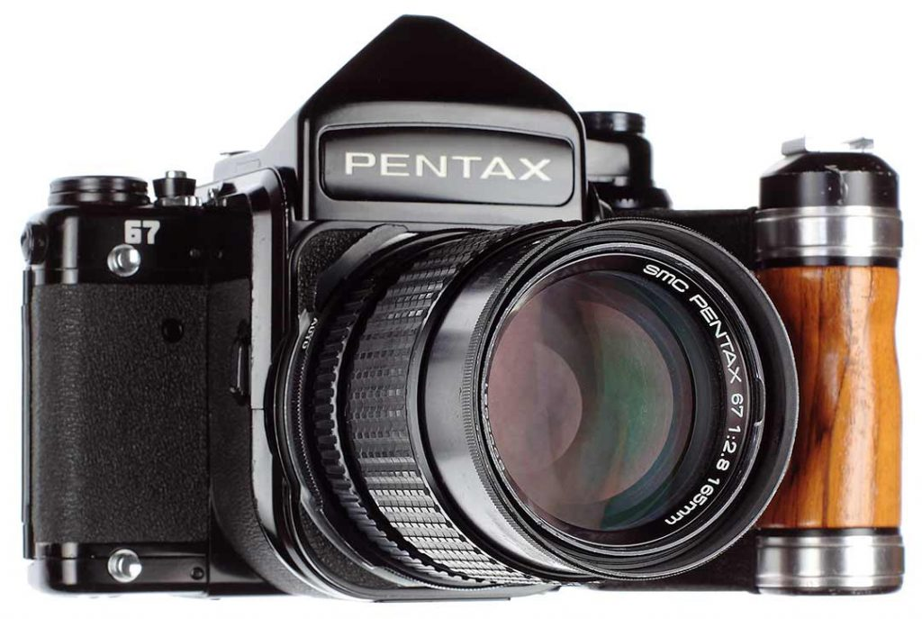 Some people refer to the Pentax 67 as
