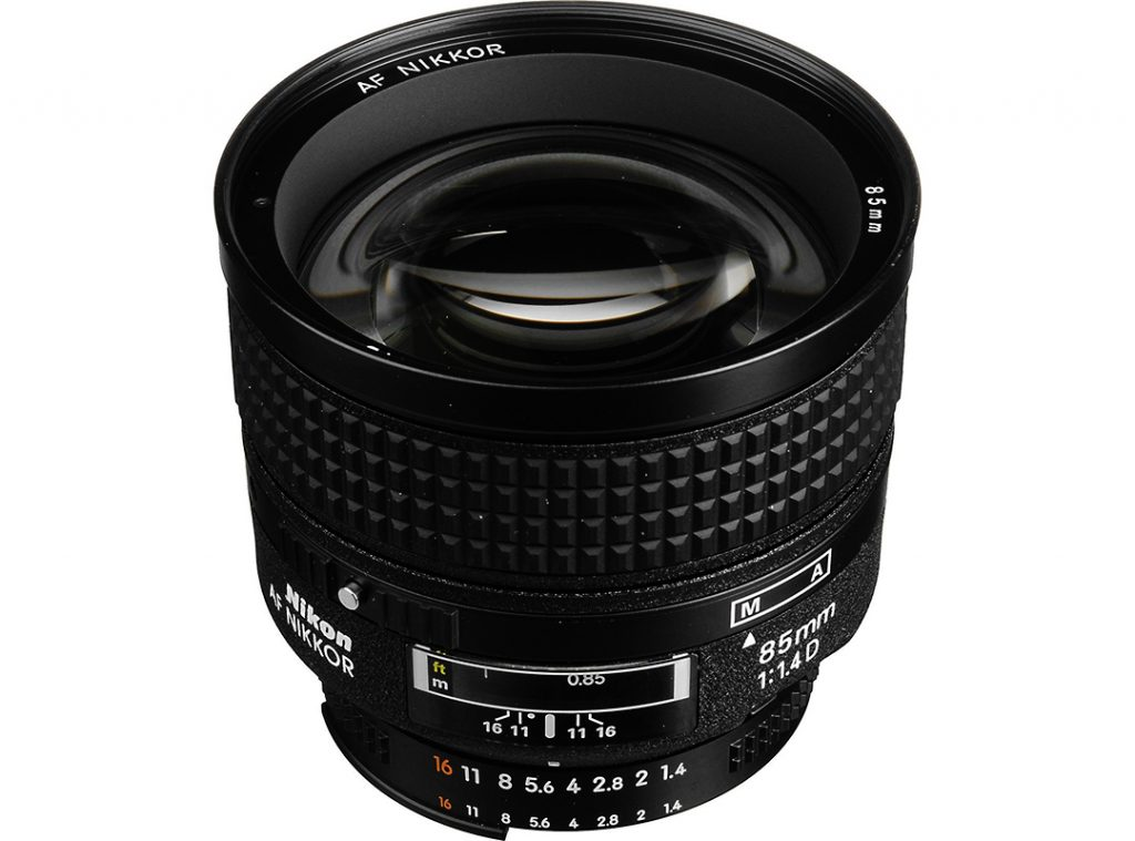 Nikon Nikkor 85mm F/1.4 D IF