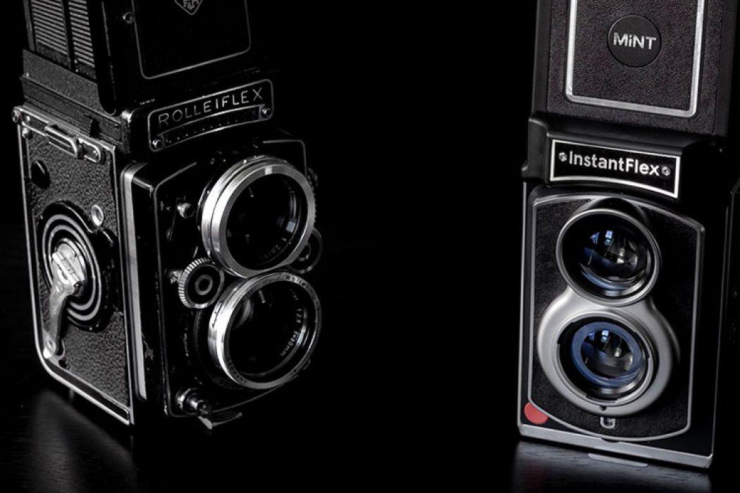 Twin Lens Reflex Polaroid?