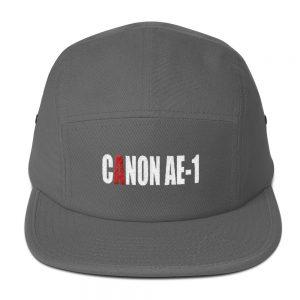 Canon AE-1 Embroidered Five Panel Cap