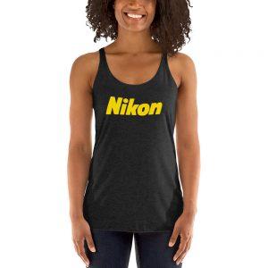 Nikon Women's Racerback Tank