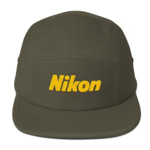 Nikon Embroidered Five Panel Cap