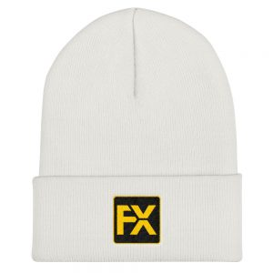 FX Embroidered Beanie