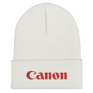 Canon Embroidered Beanie