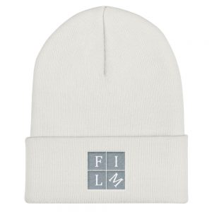 Film Squared Embroidered Beanie