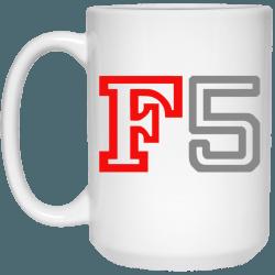 Nikon F5 Mug