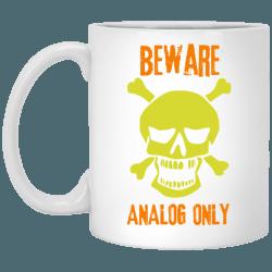 Analog Only Mug