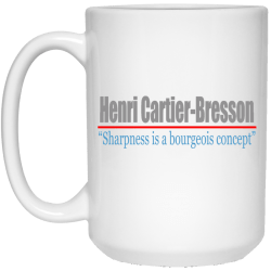 Henri Cartier-Bresson Mug