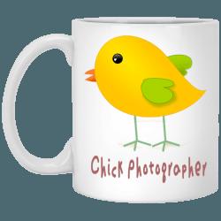 Chick Photographer Mug