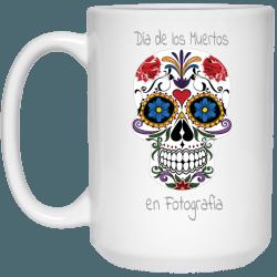 Floral Skull Mug