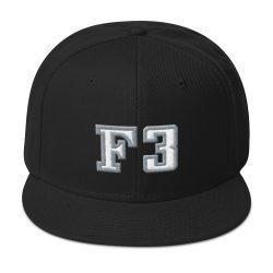 F3 3D Snapback