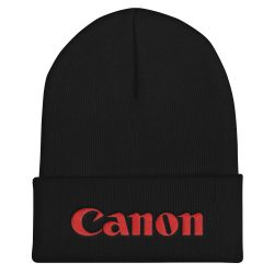 Canon Flat Embroidered Beanie