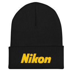 Nikon Embroidered Beanie