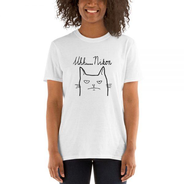 nikon cat t-shirt