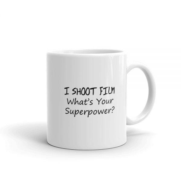 I shoot film mug