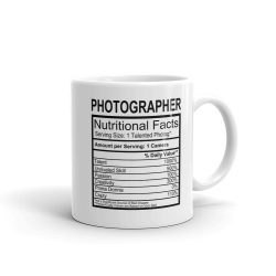 Nutrition Label Mug