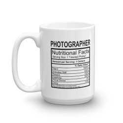 Photographer Label Mug