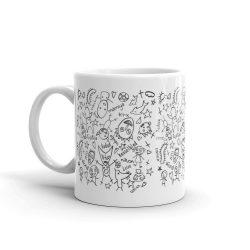 Analog Brain Mug