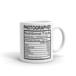 Photo Label Mug