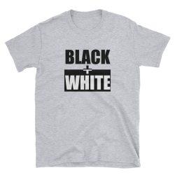 Black + White Tee