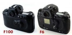 Nikon F100 – Closest to DSLR?