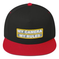 My Rules Embroidered Cap