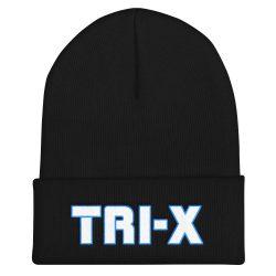 Tri-X Embroidered Beanie