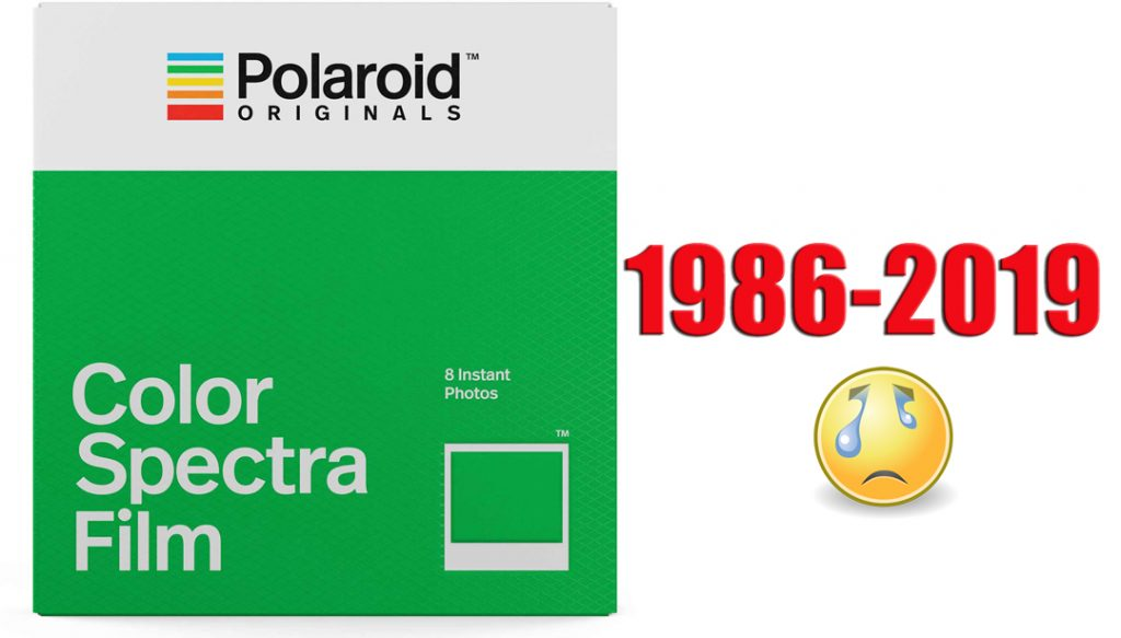 Spectra film discontinued